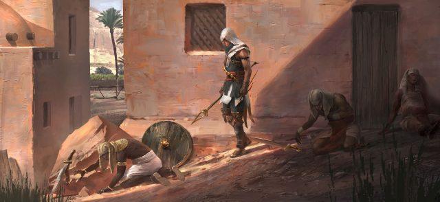 Assassin's Creed Origins ana karakteri
