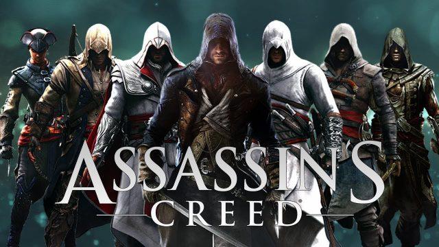 assassin's creed bütün karakterler