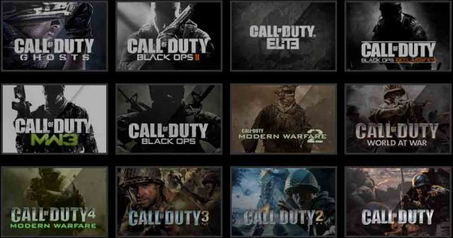 call of duty franchise