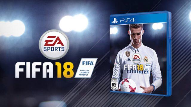 FIFA 18 kapak resmi