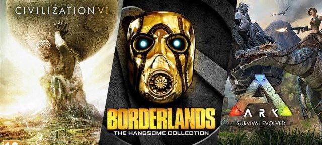 Civilization VI Borderlands ARK Survival